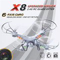 Bs # s branco x8 2.4 ghz 6-axis gyro rc quadcopter drone uav rtf ufo com câmera de 2mp hd