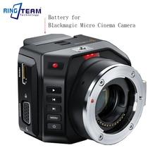 Перезаряжаемый литиевый цифровой батарейный блок для Blackmagic Micro cinema camera