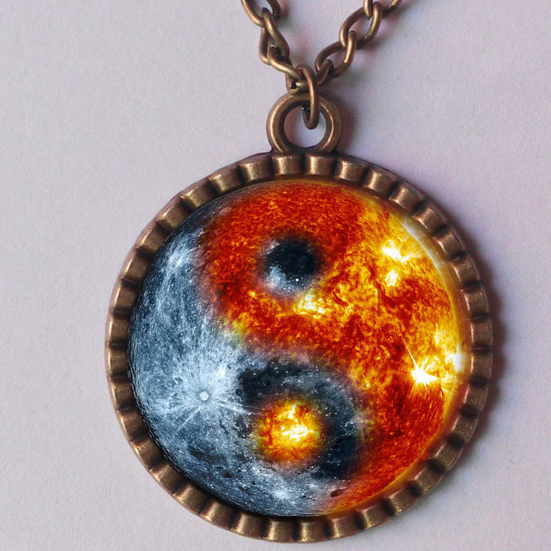 Galaxy Glass Pendant Wholesale