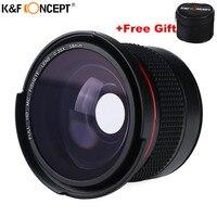 58MM FHD 0.35x Fisheye Macro Wide Angle Camera Lens Multi Coated Blue Layers Lenses For Nikon d3300 Canon 6d 600d Fujifilm DSLR