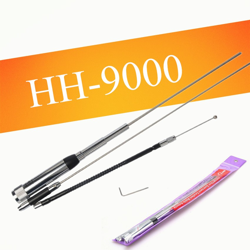 Image 2 - HH 9000 car transceiver antenna quad band 60w antenna for car radio powerful antenna for TH9800  KT 8900D-in Walkie Talkie from Cellphones & Telecommunications