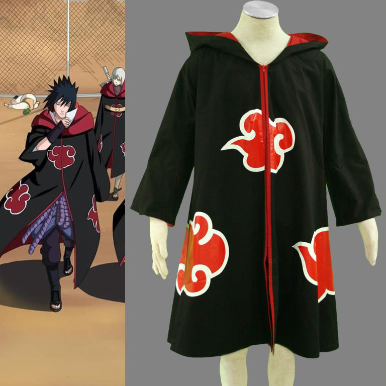Naruto Shippuden Taka Cloak Cosplay Costume