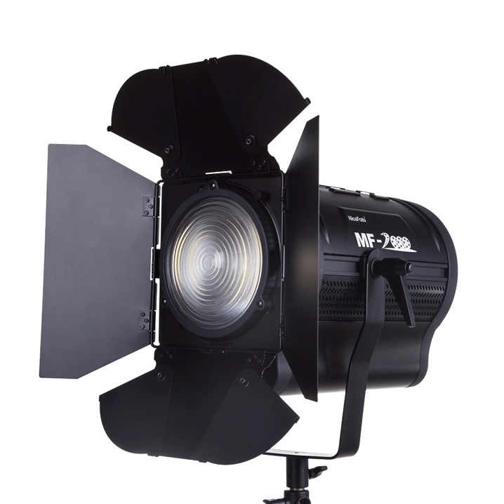 Photographic Lighting LED Film Light NICEFOTO MF-2000 Video Photo Studio Flash Light Lamp Power 200W 5500K with DC AC Input