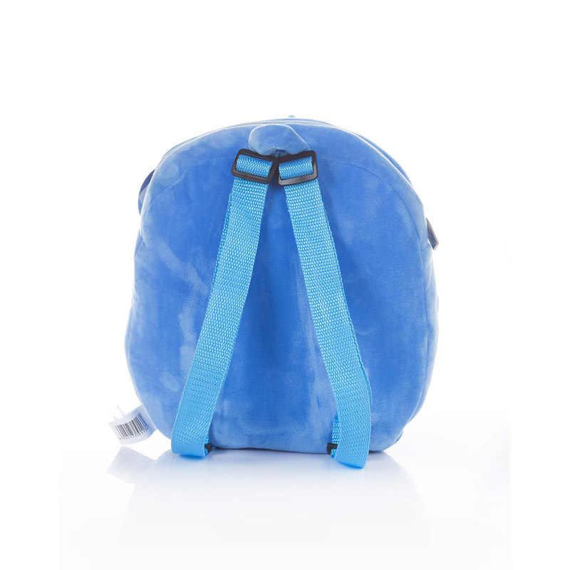 Детский рюкзак disney, 30 см, ангел, милый, детский, для улицы, школьный, мягкий, безопасный, PP хлопок, плюшевая игрушка, подарок