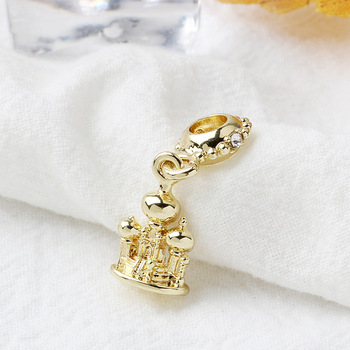Free Shipping Sliver Plated Bead Mickey Fairytale Dumbo Love Charm Fit Pandora Bracelet Necklace 4