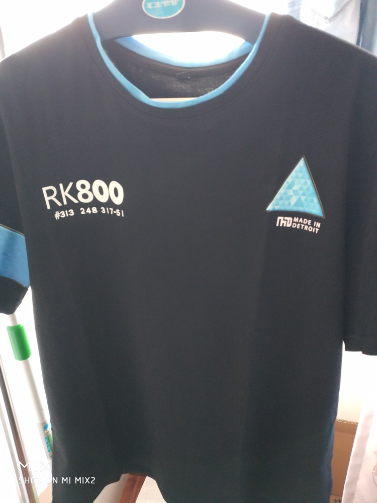 Detroit Become Human New 3D T-Shirt Cosplay Costume Connor Markus Kara T Shirt