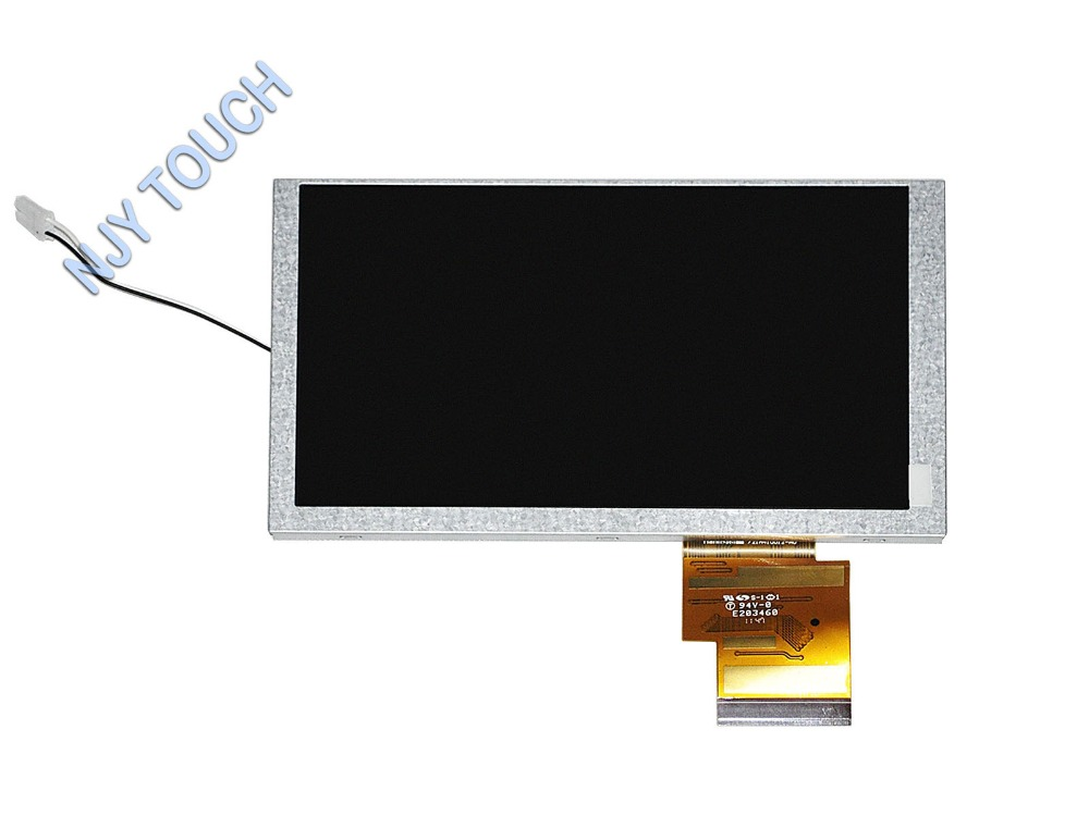 New 6.2inch TFT HSD062IDW1 60Pin 800x480 LED Backlight LCD Screen Display