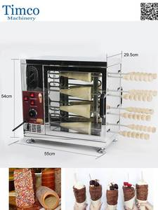 Oven-Machine Chimney-Maker Bread-Ice-Cream Commercial 16-Rolls Hollow