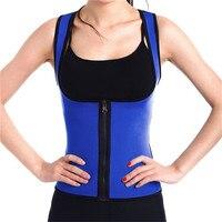 Women Hot Neoprene Body Shaper Slimming Waist Slim Belt Yoga Vest Underbust