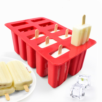 eco-friendly silicone ice cream tubs and popsicle mold for kitchen and dining bar