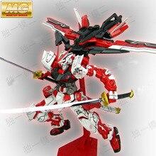Daban modelo MG Gundam camino marco rojo MBF-P02 KAI 1/100 anime japonés montado Kits de acción | PVC figuras de acción robots Juguetes de los niños