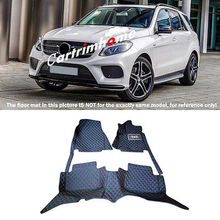 Left Hand Drive! Car Floor Mat Pad 1set For Mercedes Benz GLE Coupe C292 15-16