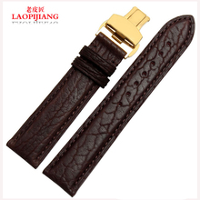 Laopijiang котиковой ремешок для часов высокого класса мода часы аксессуары 18 мм 19 мм 20 мм 22 мм