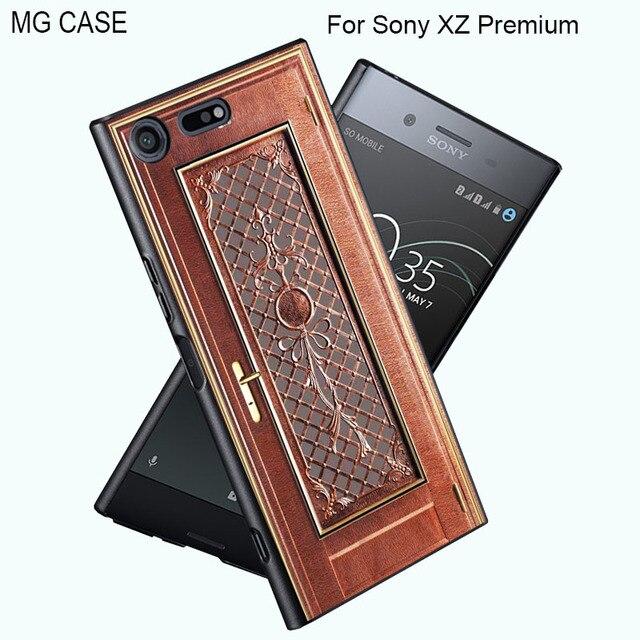 new styles f5292 7543a US $4.99 |Cute Wood Grain Tree Patern Case For Sony XZ Premium Xperia XZ  XA1 X XA Bamboo Phone Cover CASE For Sony Z5Premium Z5 Z3+ Z4 BAG-in Fitted  ...