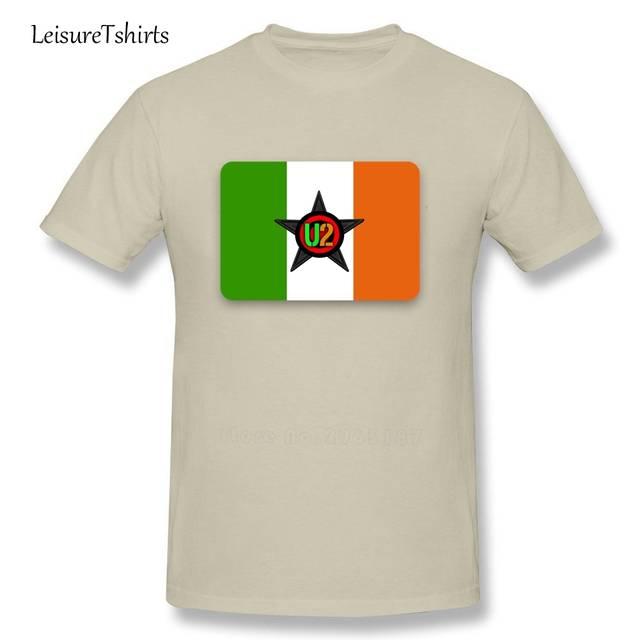 1fc8de0eed0bf Online Shop Ireland National Flag T Shirt U2 Men Short Sleeve Round Neck  Cool Tees Adult New Arrival Tshirt IRISH BAND Teenboys Tee Shirt |  Aliexpress ...