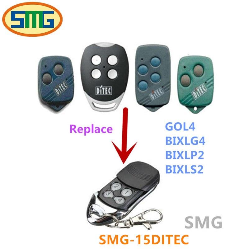 Bixlg4 Bixls2 Garage Door Replacement Remote Control Free Shipping Bixlp2 Ditec Gol4