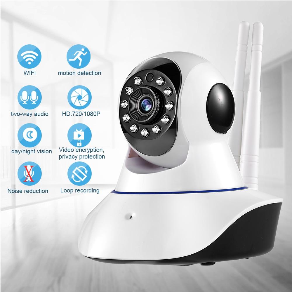 1080P IP Camera Wireless Home Security Wifi Camera Two Way Audio Night Vision Surveillance Camera Mini CCTV Baby Monitor YOOSEE