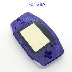 Image 3 - 20 個ハウジングシェルケースカバー + スクリーンレンズプロテクター + スティックラベルゲームボーイアドバンス Gba コンソール新 GBA ハウジング