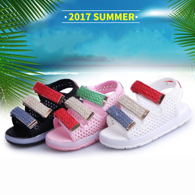 192f6a634 Sandalias de los niños Chicos Niñas Sandalias Deportivas Luz Led De Goma  Suela antideslizante Niños Zapatos