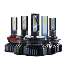 Car H7 H4 H11 H1 9005 9006 9012 880 LED Headlight Bulbs 40W 8000LM 6500K 12V ZES Automobile Headlamp Fog Lights Styling