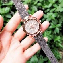 JBAILI Watch Women Luxury Watches Fashion Quartz Stainless Steel Dial Leather Band Wristwatch relogio feminino