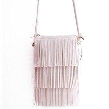 Mini Sacos de Borla Mulheres Mensageiro Saco Da Senhora Saco Crossbody do vintage Bolsa Pequena Bolsa Saco Do Telefone Bolsa Feminina(China (Mainland))