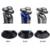 IPX7 À Prova D' Água dos homens Barbeador Elétrico Recarregável Barbeador Elétrico Máquina de Barbear Lâmina de Barbear Com Aparador de Pêlos Cuidados Faciais Q8508