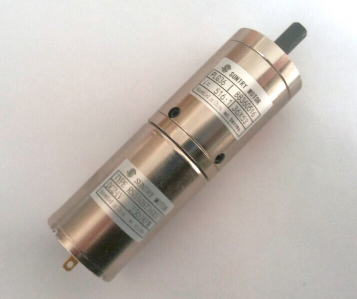 planetary gear motor 36 planetary gear motor 12V Reduction ratio 3.71:1 5.18:1 can choose