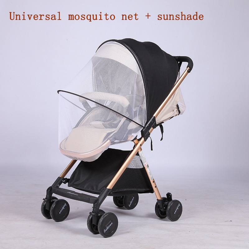 Baby Multifunction Stroller Universal Mosquito Net 2 In 1