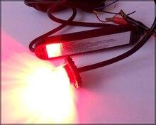 Hohe intensität DC10-30V 8 Watt Led auto Hideaway warnleuchten, notbeleuchtung, grill licht, blitzlampenköpfe, wasserdicht