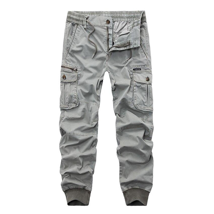 Libre Grande Pantalones Envío gray army Tamaño De Black Trajes khaki Cxy91 Moda 2018 La Nuevos Green Algodón Hombres Otoño d8rPw8q