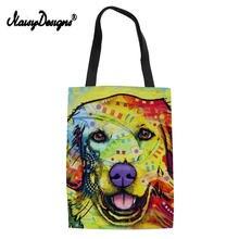 Noisydesigns/2018 модная женская сумка для покупок цветная с