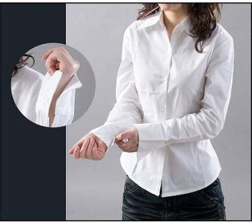 Cotton blouses for work fashion ql for White cotton work shirts