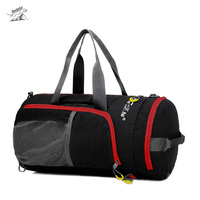 Tanluhu Outdoor Sport Bag Gym Bag Waterproof Cylinder Package Multi Function Hiking Sports Fitness Travel Folding