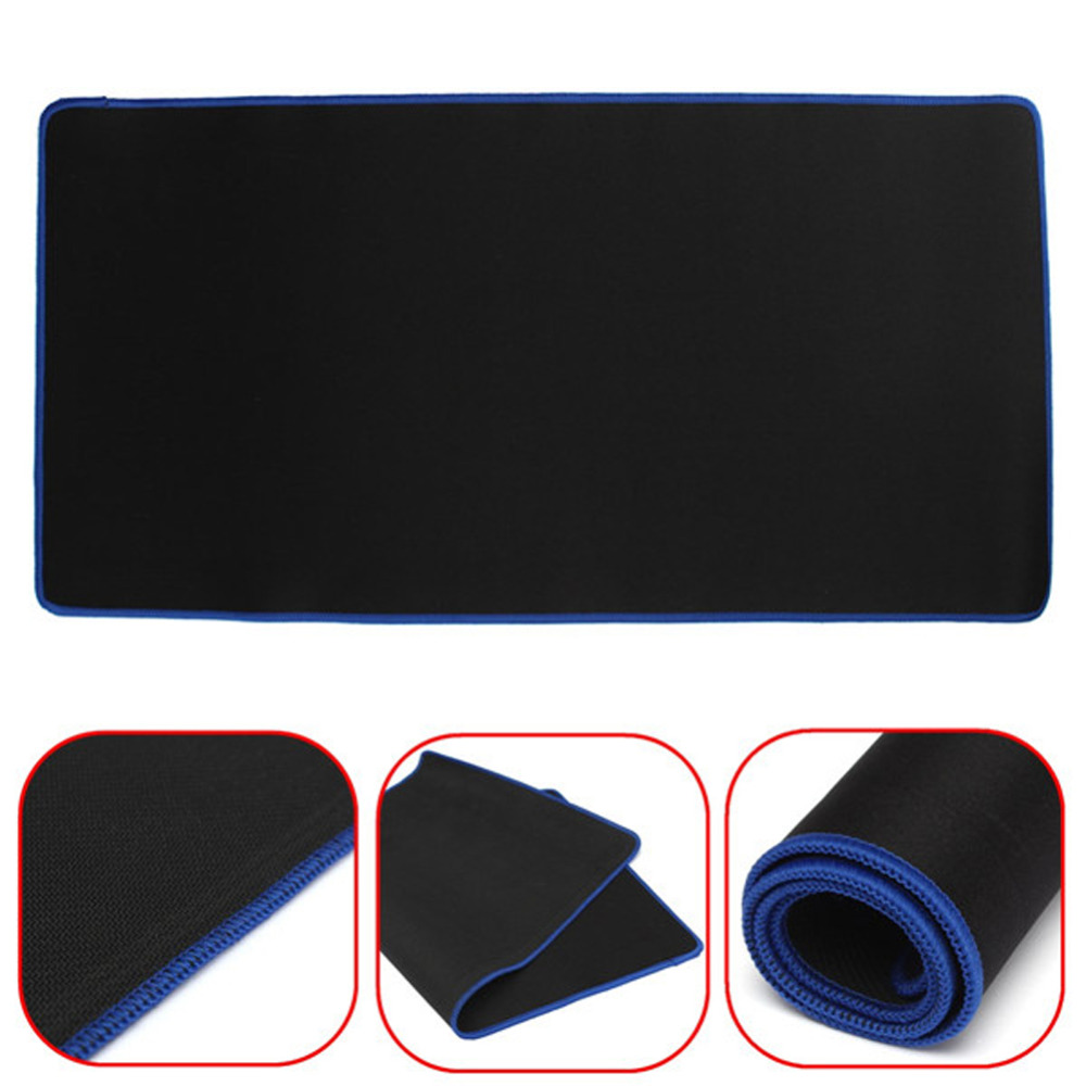 60*30CM Professional Gaming Mouse Pad Mat Pro Ultra Large Rubber Keyboard Mat Locking Edge Table Mat Mouse Pads for PC Laptop