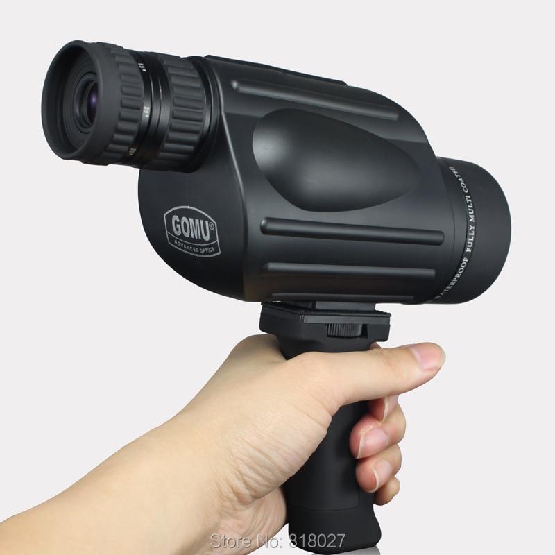 GOMU 10-30X50 böyüdücü monokulyar teleskop suya davamlı azotlu - Düşərgə və gəzinti - Fotoqrafiya 2