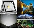 1 PCS ultrafino LEVOU luz de inundação 10 W 20 W 30 W 50 W AC85-265V waterproof IP65 Holofote Holofotes Ao Ar Livre iluminação frio/branco quente