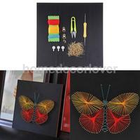 Набор струн для рисования С Рисунком бабочки для мальчиков и девочек 30x30 см