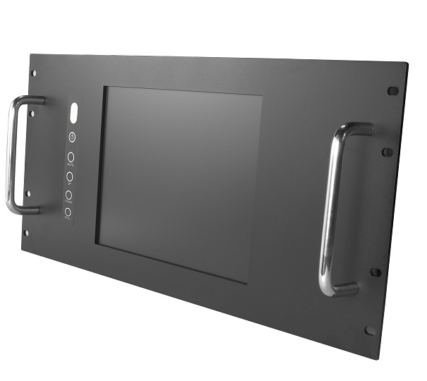 19 6U Rack Mount industrial LCD monitor, 12.1 LCD Touchscreen Panel, Rack Mount Monitor wa20p cd [ rack panel 4pin 2contacts rack and panel]