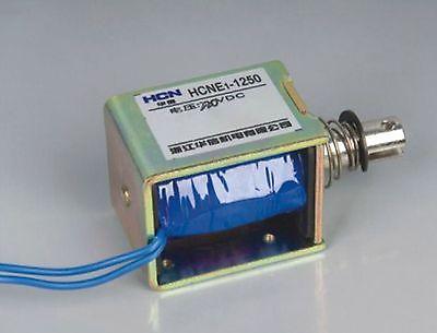24V Pull Hold/Release 10mm Stroke 0.9Kg Force Electromagnet Solenoid Actuator 24v pull hold release 10mm stroke 6 3kg force electromagnet solenoid actuator