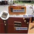 LHX P0FH04 28*44mm de Bronce de Hardware Bisagra para Joyero Gabinete Muebles DIY Familia