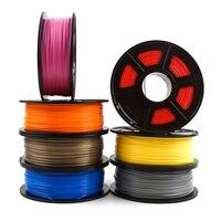 Vender Filamento de impresora 3D PLA 1,75mm 1kg/2.2lbs material de consumibles de plástico 3d filamento 3d USA NatureWorks PLA