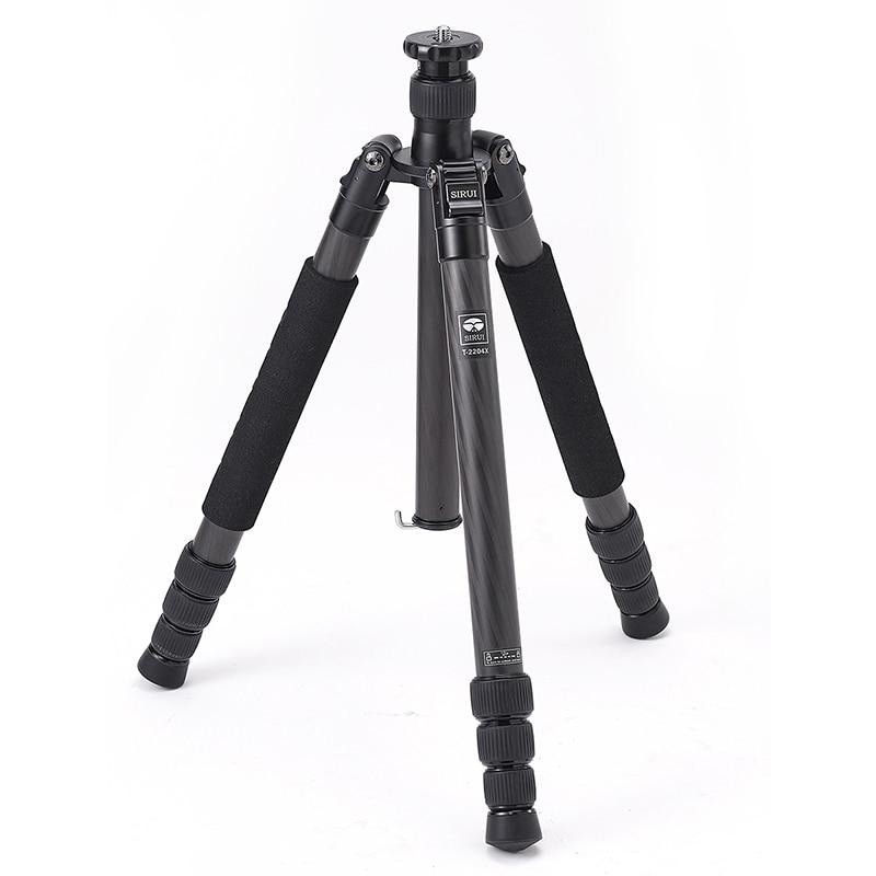 SIRUI New T2204X Carbon Fiber font b Tripod b font Professional Digital Video font b Camera