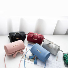 Pillow small messenger bags for women candy color crossbody