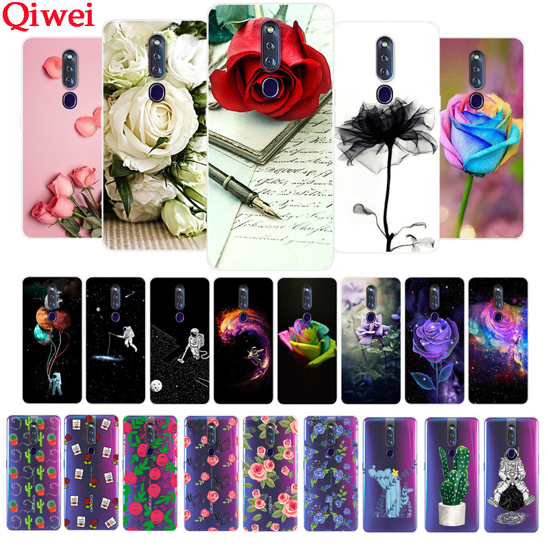 For Oppo F11 Pro Case Cover TPU Silicone Phone Case For Oppo F11 Pro F11Pro Cover Fundas For Coque Oppo F11 Pro Cover Print Soft