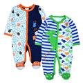 2Pcs/Lot Baby Girl Clothes Baby Boy Romper One-piece Jumpsuit Infant Costume Newborn Roupas De Bebe Infantil Clothing
