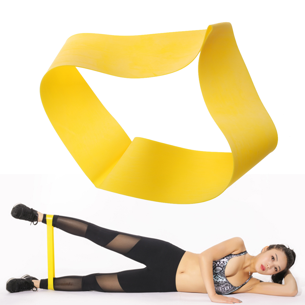 Resistance Band Pulling Ring Gym Yoga Sport Workout Training Stretching Exercises Equipment Expander Rubber Loops font