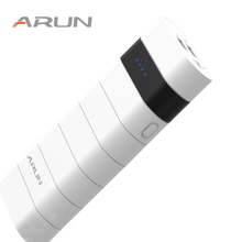 ARUN 10000 mAh Energy Financial institution Twin USB Charger Exterior Battery Moveable Cellular Cellphone Charger For Samsung OPPO Huawei Xiaomi Iphone