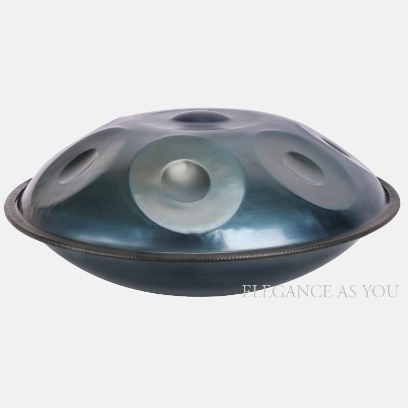 Nuevo 10 tonos colgar F mayor/D menor de trabajo hecho a mano HandPan profesional colgar tambor hecho a mano tambor de mano plato de mano tambor HandPan