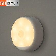 Original Xiaomi Mijia Yeelight USB Recarregável Controle Remoto infravermelho Inteligente Luz da Noite LEVOU Sensor de Movimento Do Corpo Humano